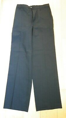 Marks and Spencer boys black adjustable uniform concert formal trousers