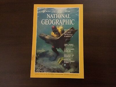 Vintage National Geographic July 1985 Vol 168 No1 BASQUE WHALING ISRAEL IRAN