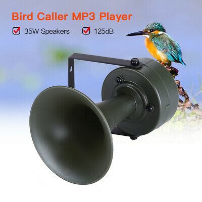 Digital Bird Decoy Sound Caller MP3 Player Outdoor 35W Speakers Hunting Devices
