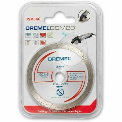Dremel DSM540 Diamond Tile Cutting Wheel for DSM20 SM540