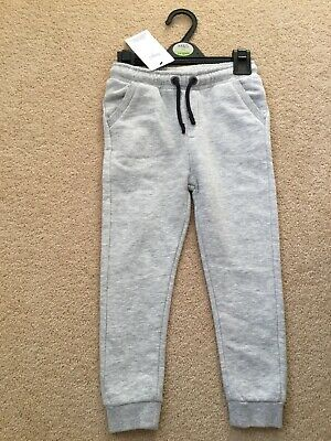 Grey jogging bottoms from Marks & Spencer, New, age 3-4