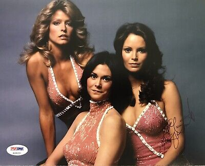 "Jaclyn Smith ""Charlie's Angels"" Signed 8x10 Authentic Autograph with PSA Cert"