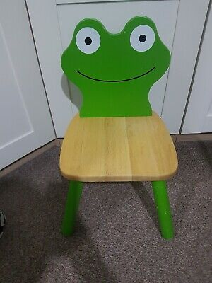 Cute Childrens Sturdy Wooden Frog Chair From John Lewis