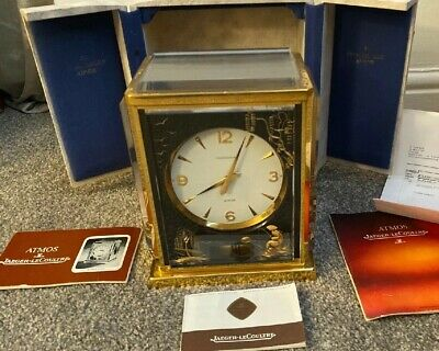 Rare Jaeger Lecoultre Chinoiserie Atmos Clock Full Set Beautiful