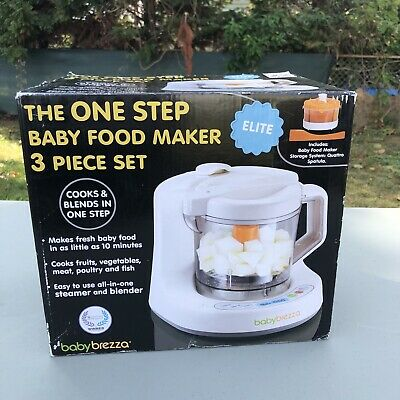 Baby Brezza One Step Elite Baby Food Maker in Box