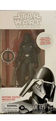 Star Wars 2nd Sister Inquisitor The Black Series First Edition Hasbro Disney New