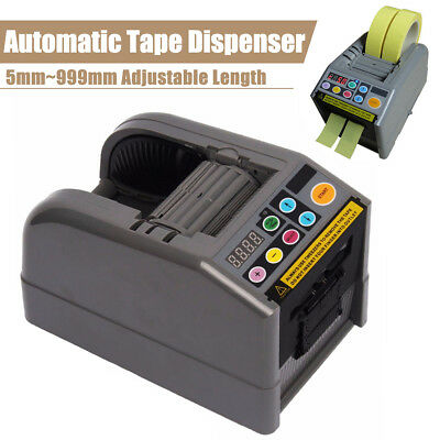 Automatic Tape Dispenser Electric Adhesive Cutter Packaging Machine For ZCUT-9