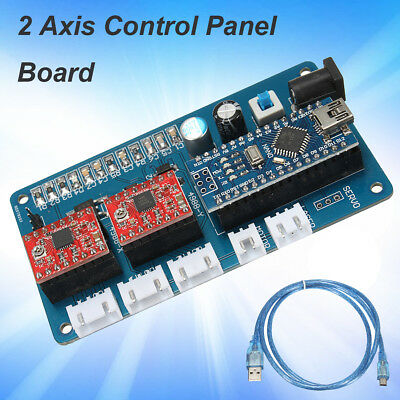 2 Axis Stepper Motor Control Board Driver For DIY Laser Engraver Benbox