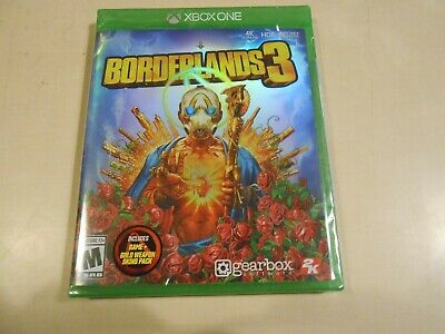Borderlands 3 Microsoft Xbox One Game NEW/SEALED Gearbox 2K 2019 FPS Game w/ DLC