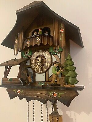 Cuckoo Clock Germany 1 Day Schneider