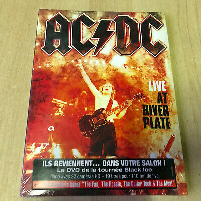 DVD AC-DC live at river Plate - concert musical / Neuf sous blister