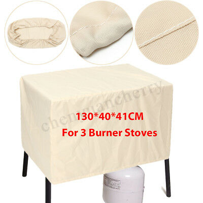 BBQ Grill Cover 3 Burner Outdoor Patio Waterproof Gas Charcoal Barbecue Protect