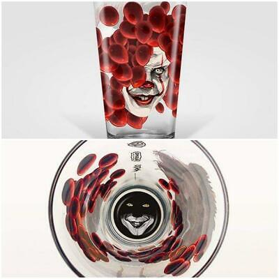 IT Chapter Two Pennywise MONDO Pint Glass - Alamo Drafthouse OOP It 2