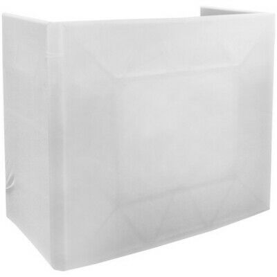 American DJ Pro Event Table Scrim with Transport Bag - White