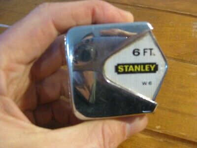Vintage Stanley Measuring Tape 6 FT (W 6) 1960s - Made In Australia