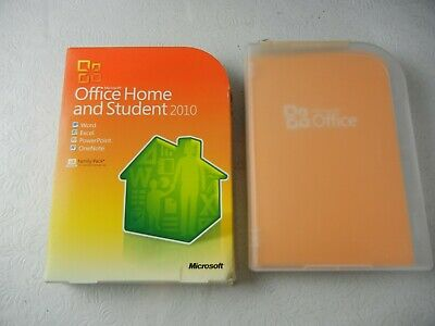 Microsoft Office Home and Student 2010 Family Pack w/ Code