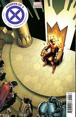 Powers Of X #6 (Of 6) Camuncoli Foreshadow Variant 2019 Marvel Comics 10/9/19 Nm
