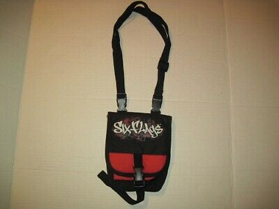 Six Flags Bag Pack Money ID Phone Adjustable Strap
