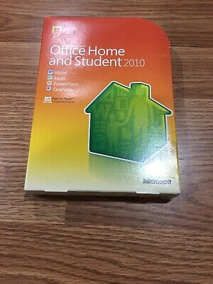 Microsoft Office Home and Student 2010 - Product Key, Original Packaging