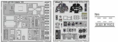 Painted Me262B1 Interior for Revell eduard 32893 1//32 Aircraft