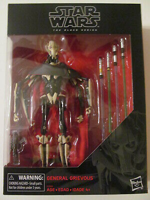 Star Wars: The Black Series - General Grievous - #D1 - 6-Inch - Sealed