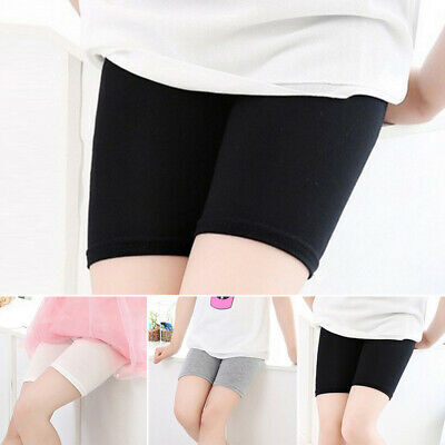 Kids Baby Girl Short Pants Leggings Stretchy Modal Safety Shorts Pants Underwear