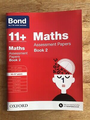 Bond 11 Plus Books 10-11+ Years - Maths Assessment Papers Book 2