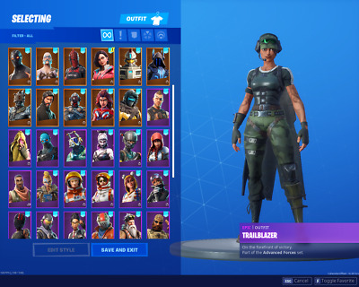 Fortnite random account +15 skin