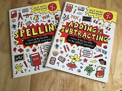 2 Key Stage 2 Maths Spelling Revision Pb Age 7+ Ks2 Yr 3 & 4 Help With Homework