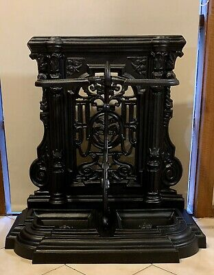 Victorian Antique Cast Iron Umbrella Stand