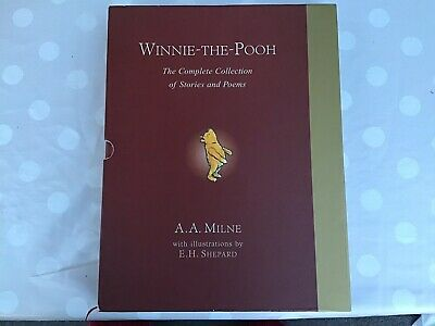 Winnie The Pooh  The  Complete   Collection Of Stories And Poems   By A.a.milne