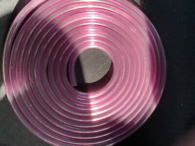 5 Mtrs 5mm  Pink Tint Classic 2 Stoke Fuel Hose / Pipe Motorcycle
