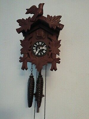 Vintage Black Forest Cukoo Clock