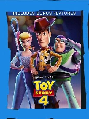 Brand New Toy Story 4 [Dvd] Bonus Edition Released 21/10/2019 Christmas Gift