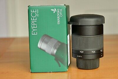 Swarovski 20-60x zoom eyepiece for ATS and STS 80 and 65 spotting scope,