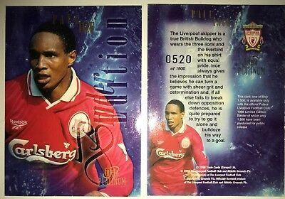 Manchester United 1998 Fútbol Base//basic cards by Futera 001 T0 099