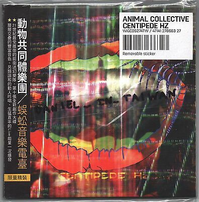 Animal Collective: Centipede HZ (2012) CD OBI TAIWAN