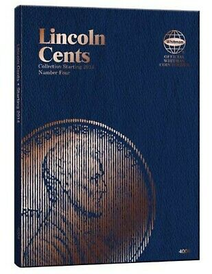 Whitman Lincoln Cent Folder #4 (2014 - Current)