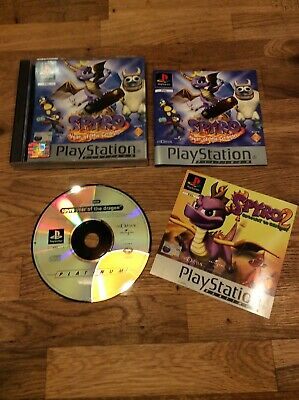 Spyro Year Of The Dragon PS1 (COMPLETE) Sony Playstation 1 Platinum.