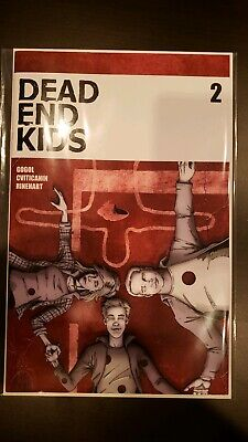DEAD END KIDS #2 1st Print Sold Out Source Point Press NM