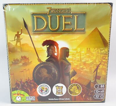 Duel: 7 Wonders Board Game~Made for just 2 players~NEW, Sealed