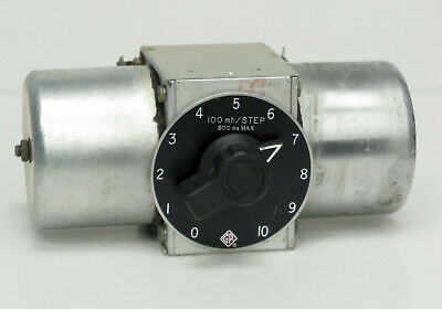 GR General Radio 940-G Single Decade Inductor 100 mH/step