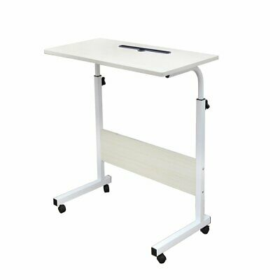 soges Adjustable Lap Table with Slot Mobile Laptop Computer Stand Bedside new