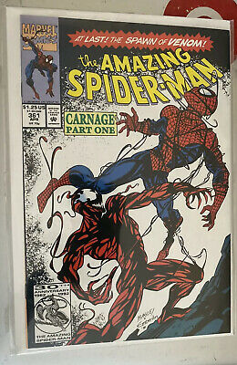 The Amazing Spider-Man #361 (Apr 1992, Marvel) 1st Carnage🔥