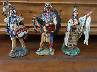 Veronese 3 Indianer Tribes of the World Figuren Native American