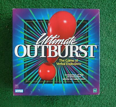ULTIMATE OUTBURST Game Verbal Explosions 1999 COMPLETE