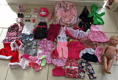 Our Generation Doll Phoebe Huge Bundle Of Clothes Accesories Carry Backpack Vgc