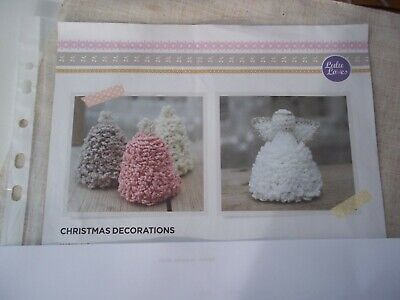 Crochet pattern for Christmas decorations.