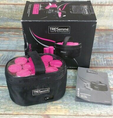 TRESemme 3039U Ceramic Large Lightweight Heated Volume Soft Hair Rollers 10 Pack