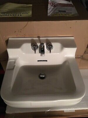 Vintage (~1951) Crane Oxford Wall Hung Sink